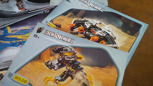 Nine Bionicle Lego Pattern Books, Lego Technic Kitchener / Waterloo Kitchener Area image 4