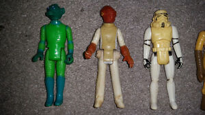 vintage Star Wars collectibles from 1977 year the movie came out London Ontario image 2