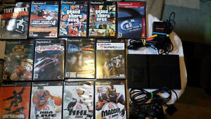 Ps2 Slim, Controller, Memory card and 13 games!