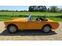 1972 MG Midget 1275 Convertible Petrol Manual