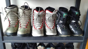 A HUGE SELECTION OF BOARDING BOOTS pay $25 and save BIG