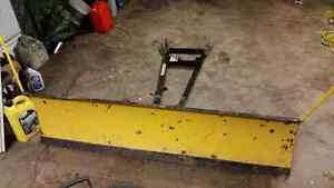 5 foot Kimpex ATV plow