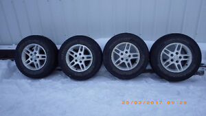 4 roues mags 16 po. Jeep