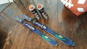 Skis & boots /skis & bottes - kids / enfants 110cm