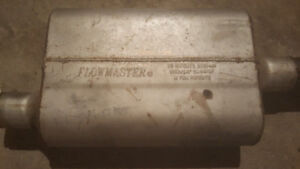 """Flowmaster 40 Series Exhaust Muffler. 2"""" in/out. Good shape. $75"""