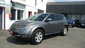 2007 Nissan Murano SL AWD LOADED Certified 188,000km!