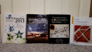 Used Books For Sale - Year 1 Business Books (Saskpolytech)
