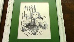 Nursery Sketches: Raggedy Ann and Andy, Peter Etril Snyder Kitchener / Waterloo Kitchener Area image 2