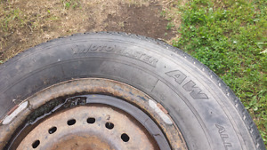 14 inch tires and rims like new for dodge carevan 5 bolt