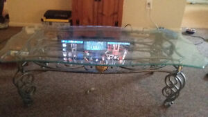 Beautiful removable glass top coffee table Cambridge Kitchener Area image 2