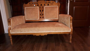 Antique English settee $180 -new lower price!!!