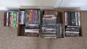 DVD's and 4 VHS movies for sale