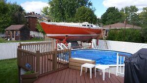Chance 28/32 Paceship bateau à voile 32 pieds West Island Greater Montréal image 2