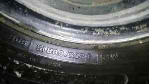 Winter tires and rims Peterborough Peterborough Area image 3