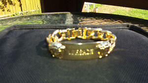 Bracelet Versace Plaqué or