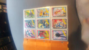 Marvel collecter cards