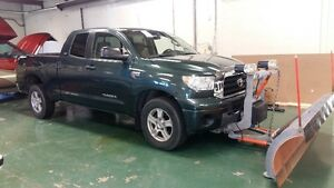 2008 Toyota Tundra 4x4 Pickup Truck with Artic plow