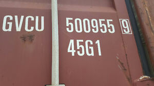 SHIPPING CONTAINERS FOR SALE - Damaged