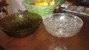 Retro/Vintage green glass Belleville Belleville Area image 3