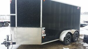 6x12 Enclosed V-Nose Trailer Strathcona County Edmonton Area image 1