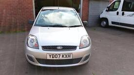 FORD FIESTA DIESEL 5 DOOR £30 TAX LADY OWNED SINCE 2010 AIR CON ECONOMICAL 2007