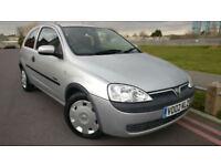 2002 Vauxhall/Opel Corsa 1.2i 16v ( a/c ) Comfort +++FULL SERVICE HISTORY+++