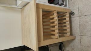 2 Kitchen Carts - IKEA BEKVÄM