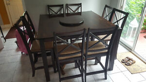Pub Style Kitchen table and chairs - Sits 8
