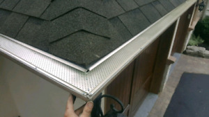 EAVESTROUGH CLEAN & REPAIR PKG $299 LEAFGUARDS $5 FT