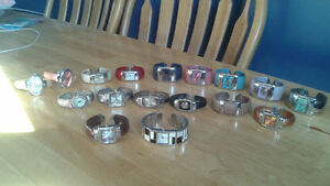 Various bangle watches
