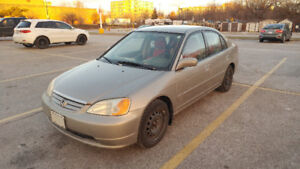 2003 Honda Civic LX -sold AS-IS- WINTER TIRES-WELL MAINTAINED