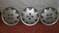14 inch steel rim covers, 3 pcs