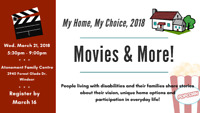 My Home, My Choice, 2018: Movies & More!