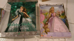 MATTEL Barbie Dolls - 2005 BOB MACKIE HOLIDAY BARBIE & 2001 RAPU
