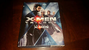 X-Men Trilogy on Blu-ray 9 Disc set Mint Condition only $10.....