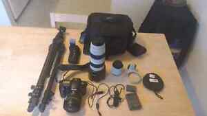 Canon 30 D camera package c/w canon 70-200 fixed 2.8 lens