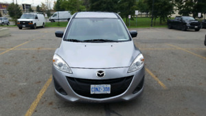 2012 Mazda 5 (7 passengers) - LOW KMS! ONLY 71,000KMS!