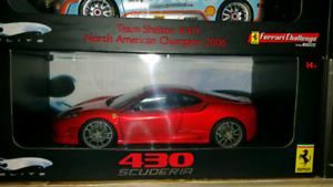 SOLD 1:18 Diecast Hot Wheels Elite Ferrari 430 Scuderia