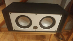"""2, 10"""" Infinity Subs in Bassworx ported box"""