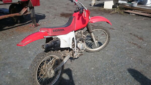 2003 Honda 200xr low hrs, in dry storage