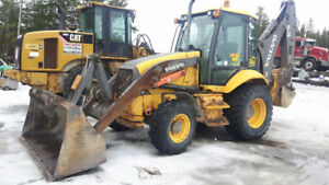 2004 Volvo BL70 Backhoe 4x4, Extend a hoe