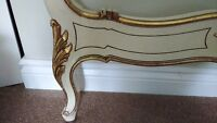 2 LOUIS XV FRENCH HAND PAINTED SINGLE BEDS IMPORTED FROM FRANCE