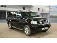 2007 Nissan Navara Double Cab Pick Up Aventura 2.5dCi 169 4WD Auto PICK UP Diese