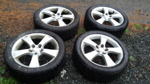 Winter tires studed