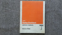 Antique Harley- Davidson Service Manuals