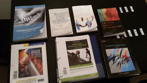 Winter 2016 Textbooks for Sale