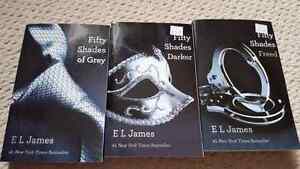 Fifty Shades of Grey Book Series Strathcona County Edmonton Area image 1