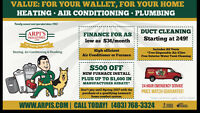 $500 OFF FURNACE REPLACEMENT PLUS UP TO $1600 IN REBATES