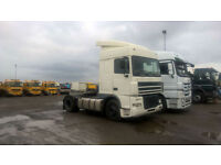 DAF TRUCKS FT XF95.430 4X2 TRACTOR UNIT, SLEEPER CAB