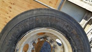 Spare tire for big truck or trailer 11R22.5 Continental used